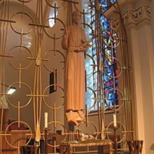 St. Gaspare Relic at St. Charles Seminary