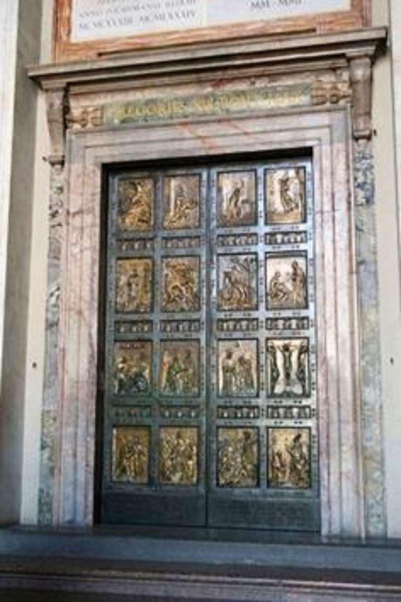 The Holy Door of Saint Peter's