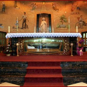 Saint Frances Cabrini Shrine in Manhattan, New York