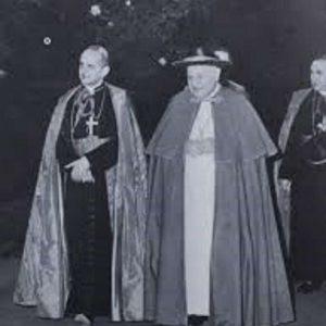 Cardinal Montini & Pope John XXIII