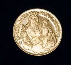 Small Gold Medal: Pope Paul VI