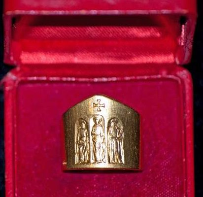 Pastoral Ring Given to  Bishops Participating in  Vatican  II  From  Pope Paul VI