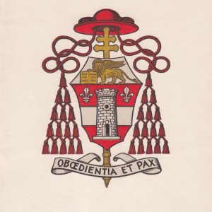 Small Program With the Coat of Arms of Blessed John XXIII