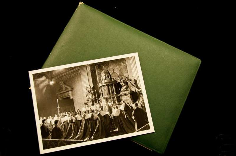 Photo Album of the Consistory Elevating Archbishop Francis Spellman to the Rank of Cardinal in 1946
