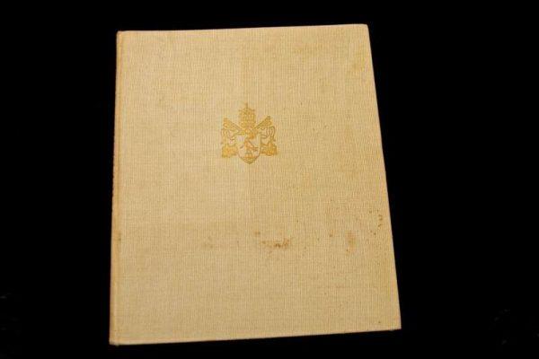 Photo Book – Pilgrim or Tourist Book of the Vatican: Pope Pius XII