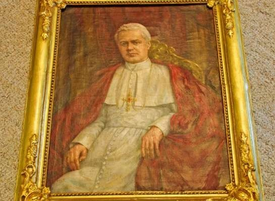 Portrait of St. Pius X Owned by Venerable Pius XII