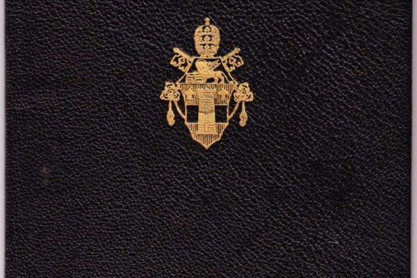 Passport Issued to Participating Bishops  in Vatican II