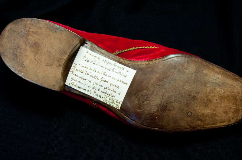 Shoe of Pius XII