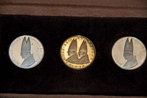 Two Commemorative Coin Sets from the pontificates of Saint John Paul II and Saint John XXIII