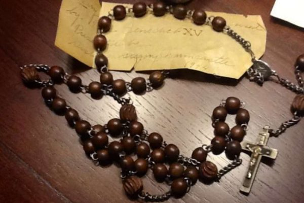 Rosary Belonging to Pope Benedict XV