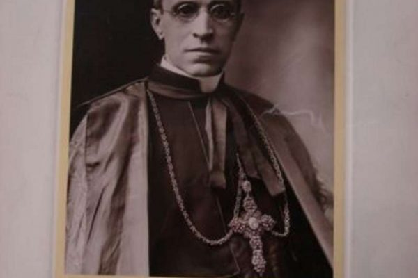 Signed Photograph of Pope Pius XII as Cardinal, 1938