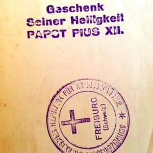 Rare Stamp Inside New Testament