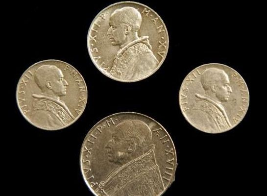 Coins From Vatican City State: Pius XII