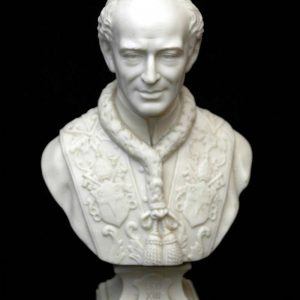 Bisque Bust of Pope Leo XIII