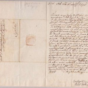 Letter signed by St. Paul of the Cross, May 5, 1755