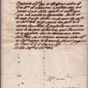 Autograph of St. Robert Bellarmine