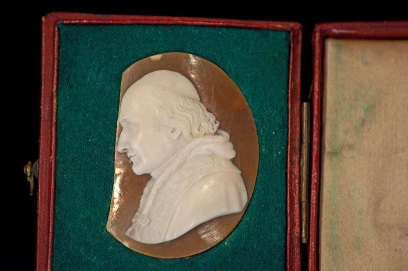 Cameo Containing an Image of Pope Pius VIII