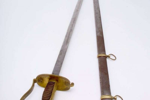 Sword of the Swiss Guard Used for Ceremonial Purposes after 1870