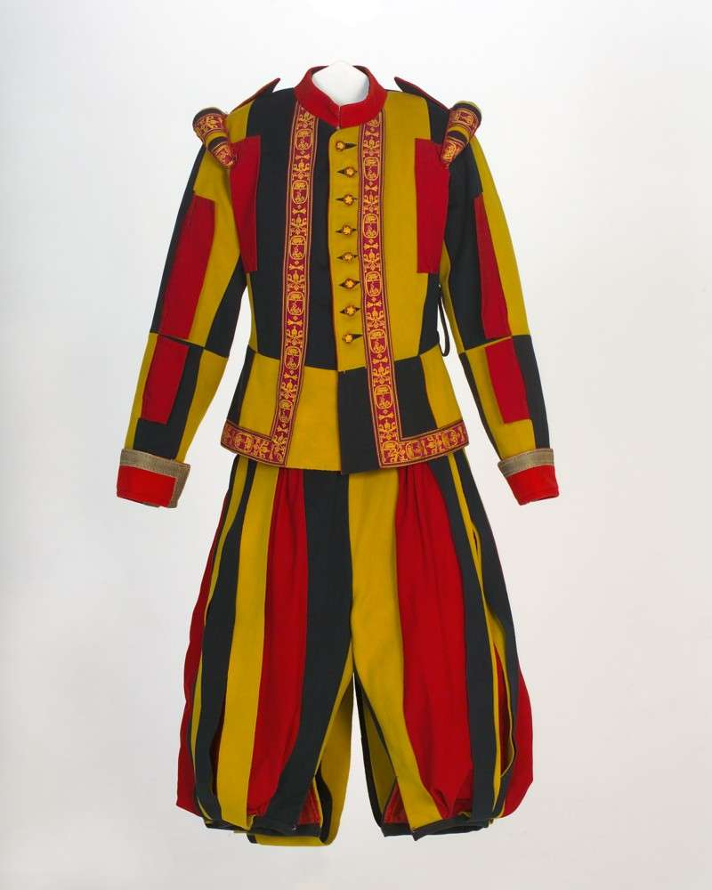 Swiss Guard Uniform From The Pontificate of St. Pius X