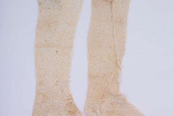 Pair of Silk Stockings of Blessed Pius IX