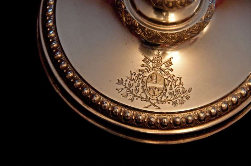 Chalice Commemorating 50th Year of Leo XIII Priesthood (Insignia)