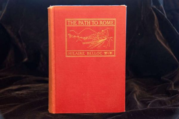 Autographed Copy of The Path To Rome, Published 1905