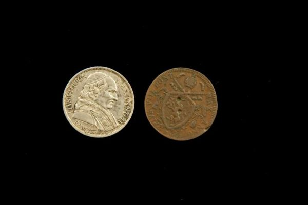 Two Coins From the Pontificate of Pius VIII