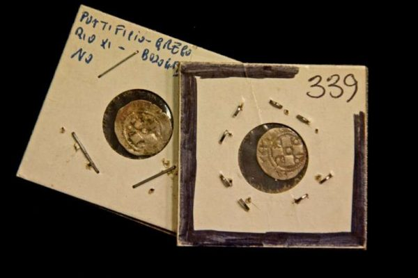 Two Silver Coins From the Pontificate of Gregory XI