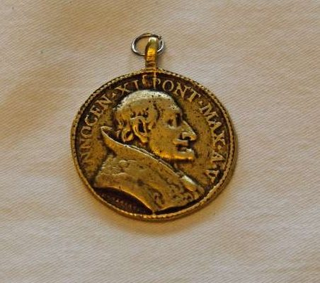 Gold Medal From the Pontificate of Blessed Innocent XI