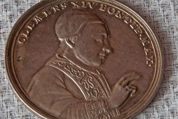 Medallion  Commemorating the 1772  Suppression of the Jesuits