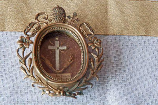 Reliquary Containing Hair of Blessed Pius IX