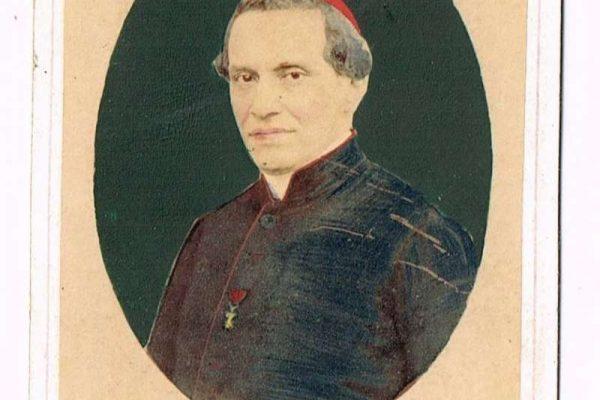 Carte de Vista Signed by Cardinal Antonelli, 1860