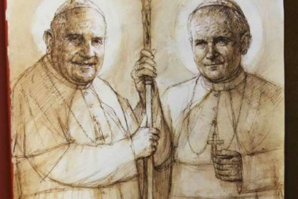 Saint John XXIII and Saint John Paul II