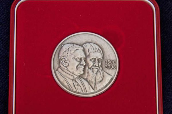 Commemorative Medal from the 5ooth Anniversary of the Swiss Guard