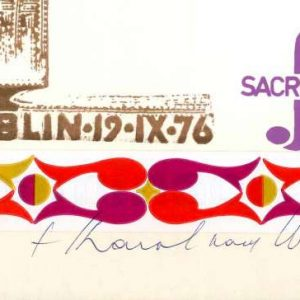 Diploma from the Polish Festival of Sacrosong, Dated 1976, Signed by Karol Wojtyla
