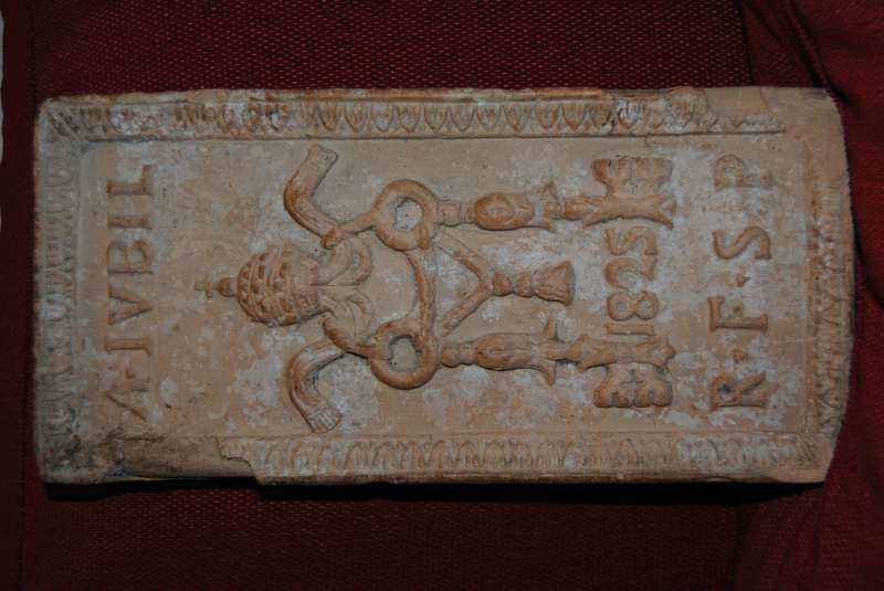 Brick from the Holy Year 1825