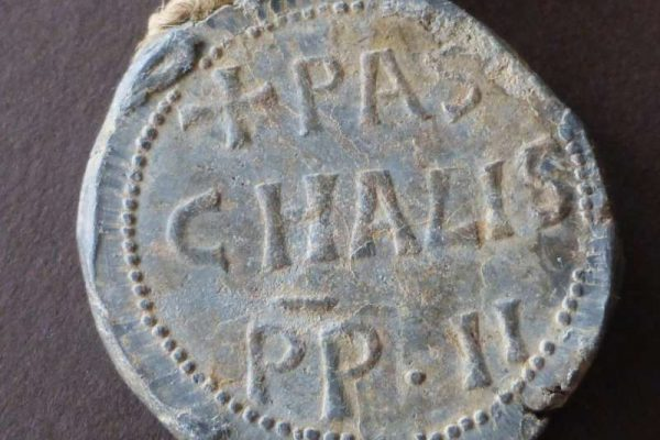 Lead Seal from the Pontificate of Paschal II