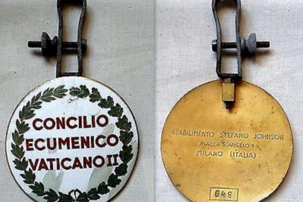Vatican II Vehicle Identification Plate