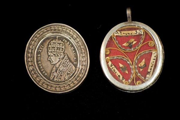 First Class Relics Belonging to Pope Gregory XVI