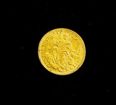Gold Coin From the Pontificate of Clement XIV