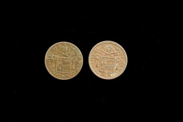 Two Coins From the Pontificate of Gregory XVI