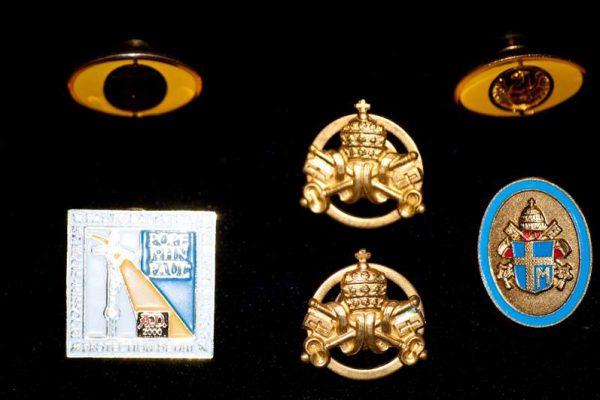 Several Lapel Pins Belonging to Secret Service Members