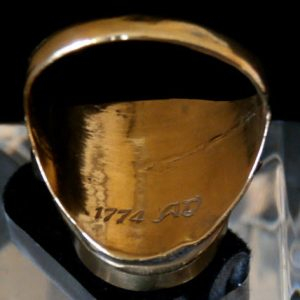 Pope Clement XIV Ring with Date