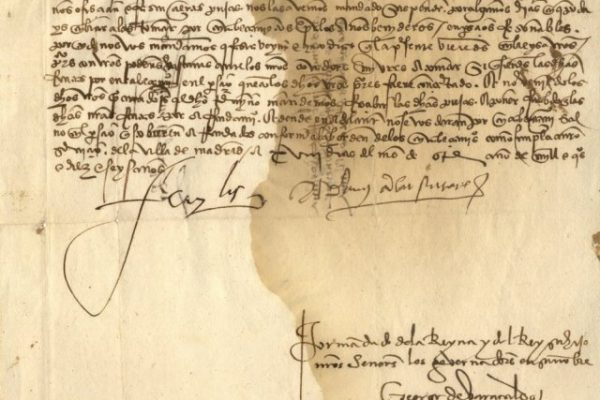 Document Signed by Pope Adrian VI in 1516