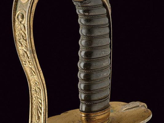 Sword Used by the Civic Guard During the Pontificate of Pope Pius IX