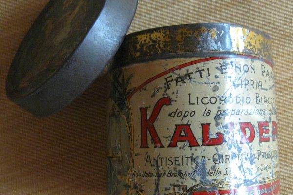 Pope Saint Pius X: A Pharmaceutical Tin with His Coat of Arms