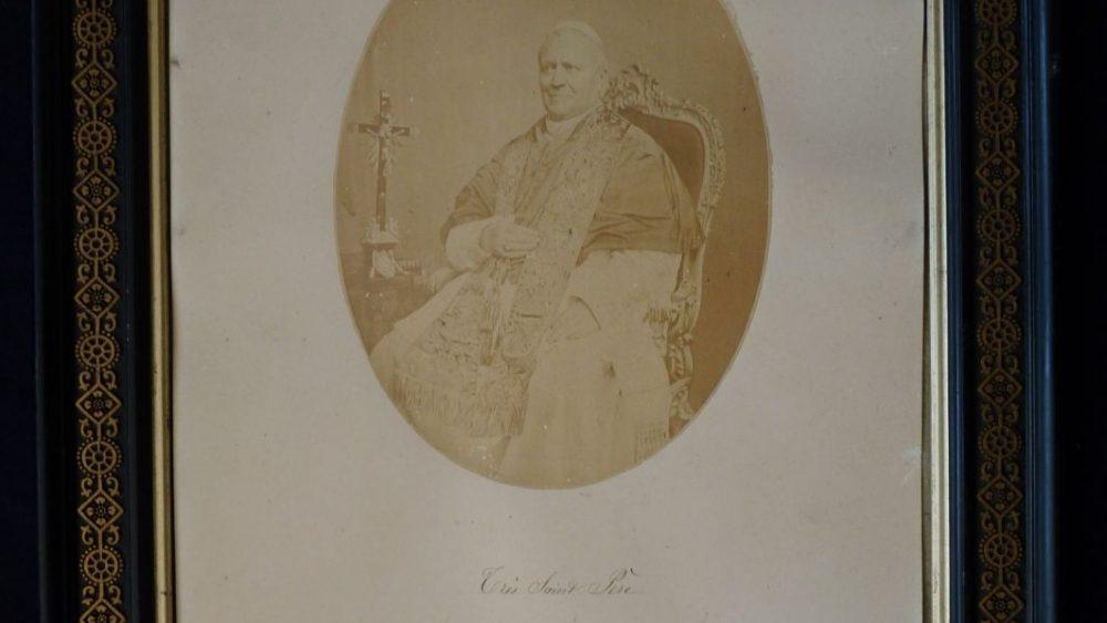 Pius IX: Rare Ink-Signed Image