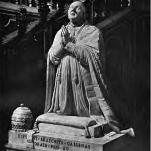 Tomb Monument of Pope Pius VI in St. Peter's Basilica