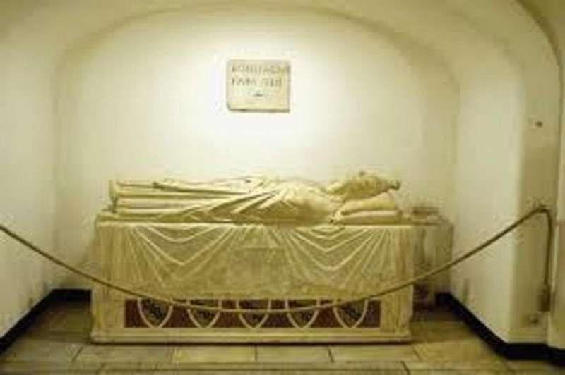 Tomb of Pope Boniface VIII in the Vatican Grottoes