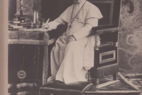 Autographed Photo of St. Pius X
